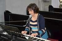 Parodos pristatymo akimirkos. M. K. Oginskio polonezą Atsisveikinimas su Tėvyne skambina pianistė Šviesė Čepliauskaitė