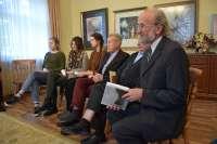 Dailininko Adomo Galdiko parodos atidarymas Rietavo Oginskių kultūros istorijos muziejuje.