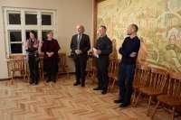 Kilnojamosios parodos Dvaras Žemaitijoje... pristatymo Rietavo Oginskių kultūros istorijos muziejuje akimirkos